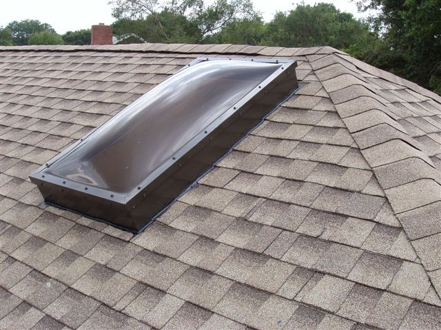 Do You Have A Self Flashing Skylight Or A Curb Mount Skylight
