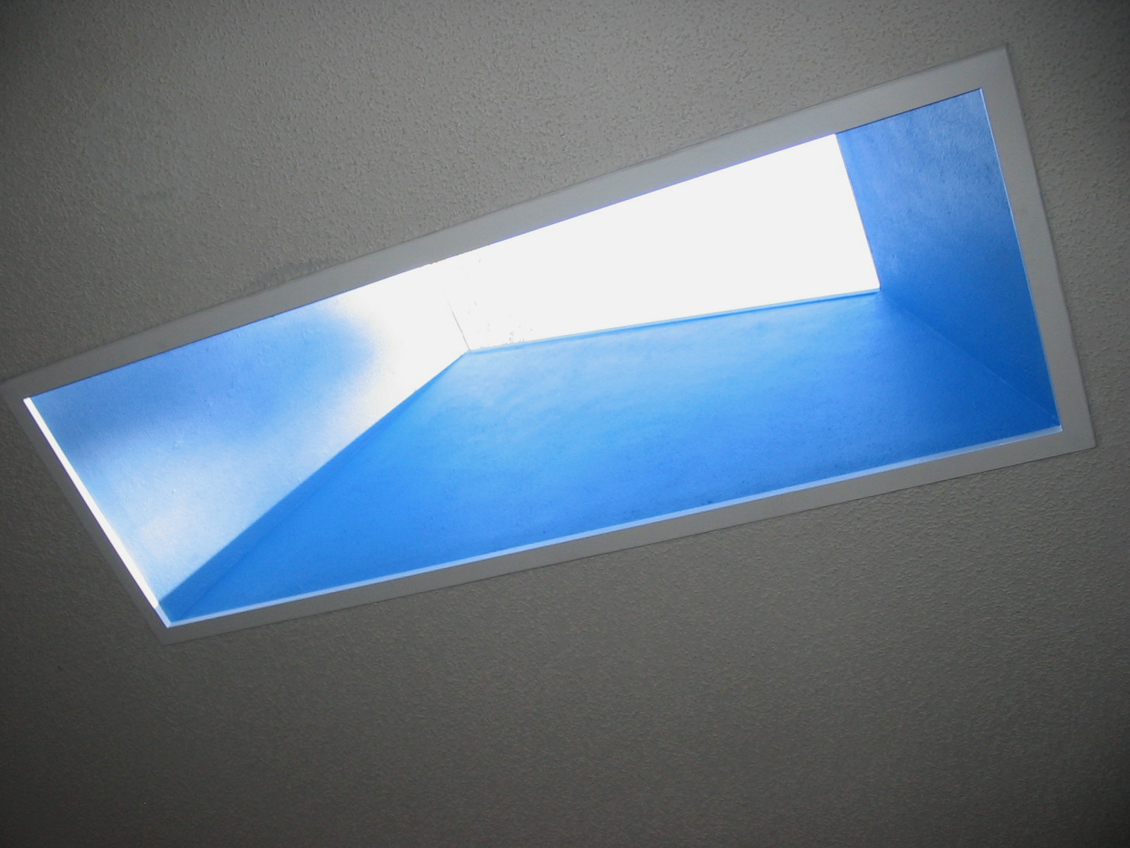 Ceiling Painted Blue